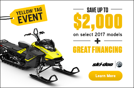 Yellow Tag Event (Ski-Doo)