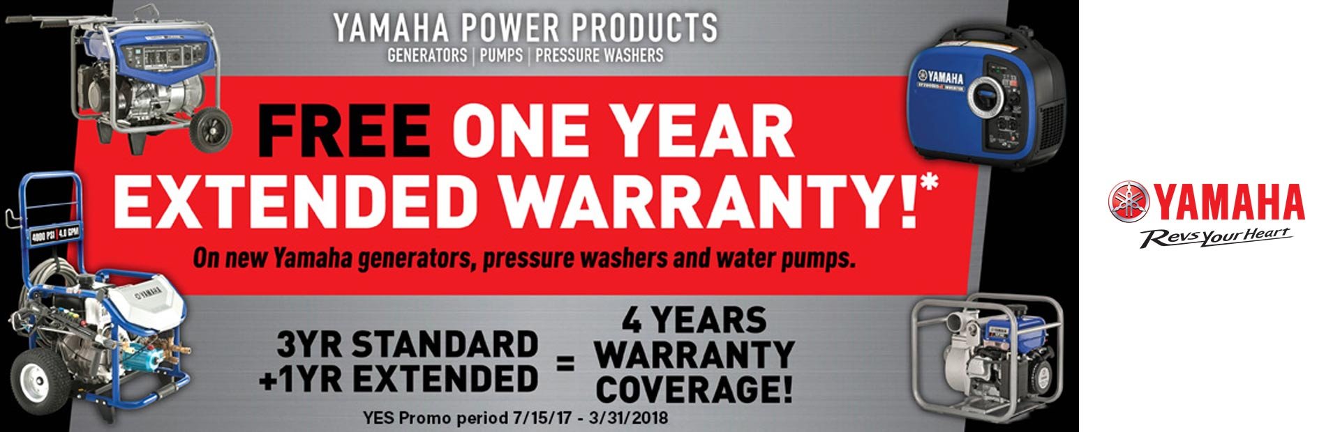 Free One-Year Extended Warranty