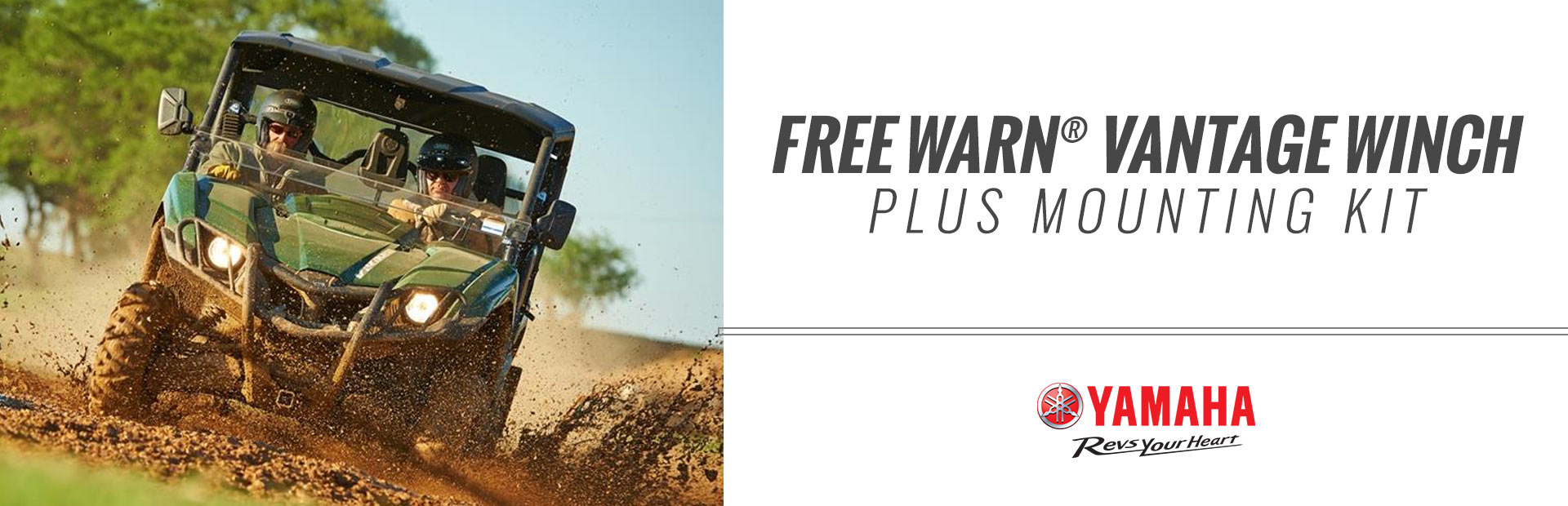 Free WARN® Vantage Winch Plus Mounting Kit