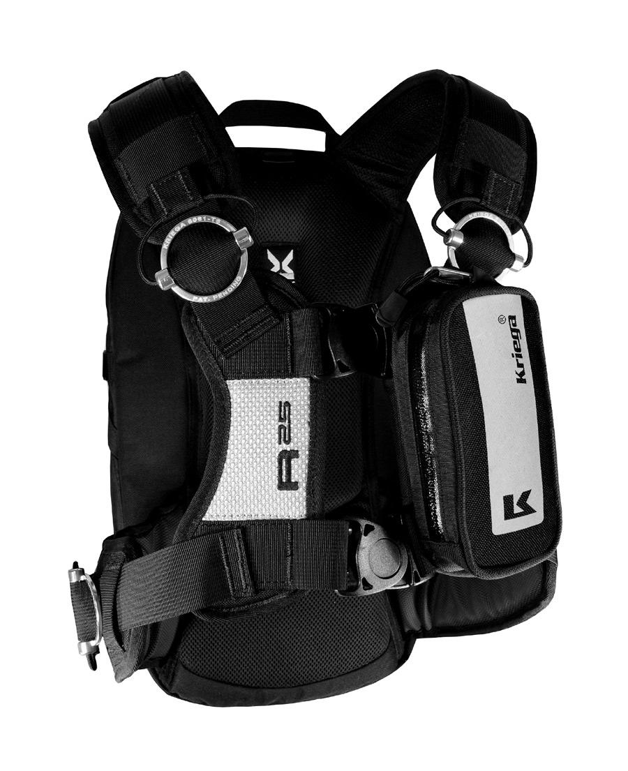 7d301aef33b Kriega R25 Motorcycle Backpack- Fenix Toulouse Handball