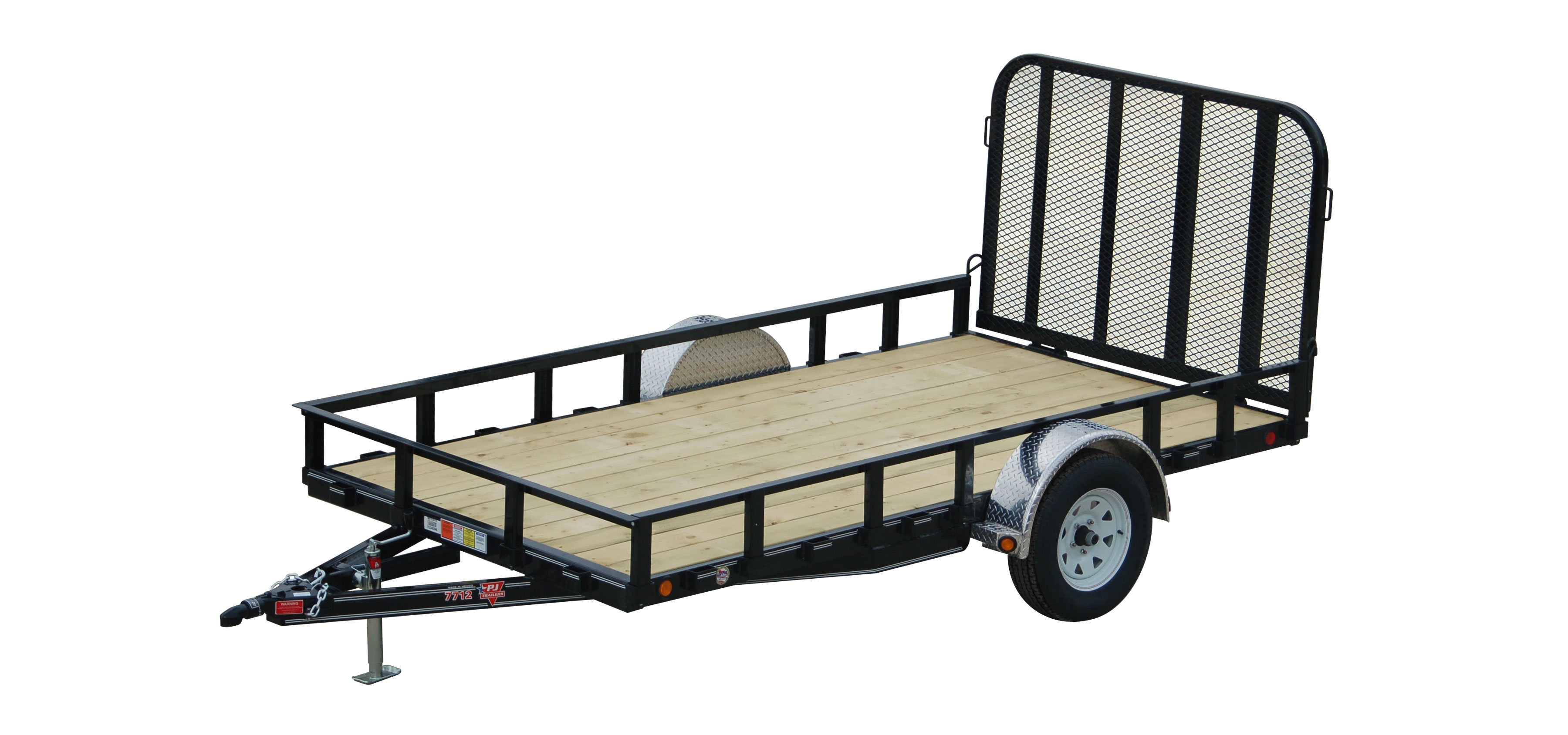 Pj Trailers 77 Channel Utility U7 For Sale In South Londonderry Trailer Wire Diagram