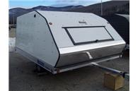 MFS 101x10D Combo Snowmobile Trailer