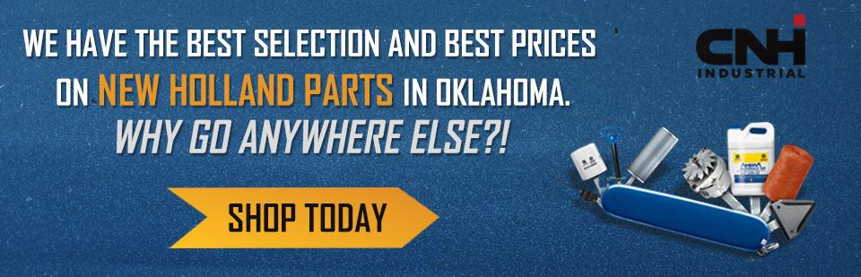 New Holland Parts banner