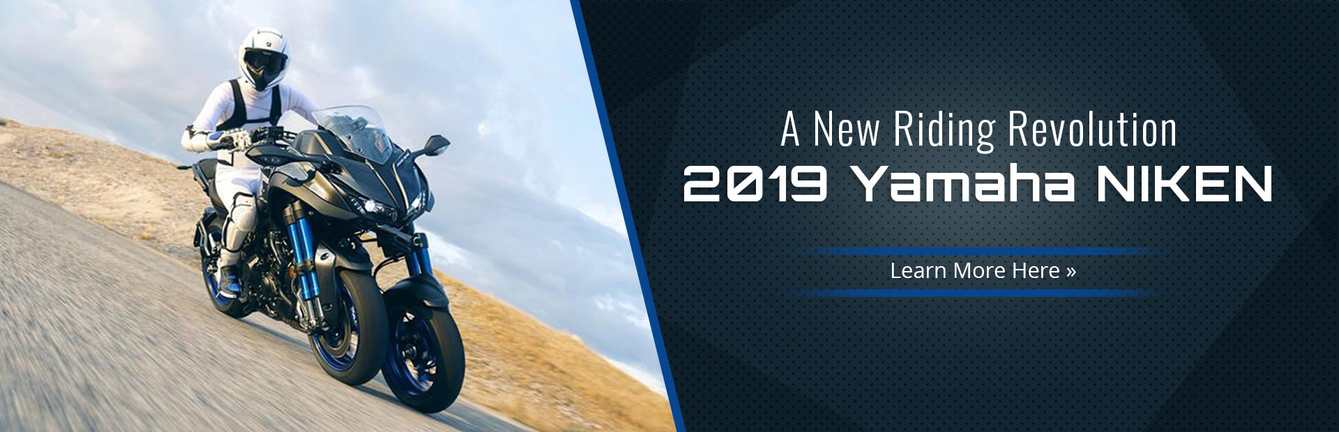 2019 Yamaha NIKEN™: Click here to learn more.