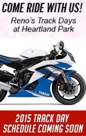 Reno's Track Days at Heartland Park: 2015 Track Day schedule coming soon!
