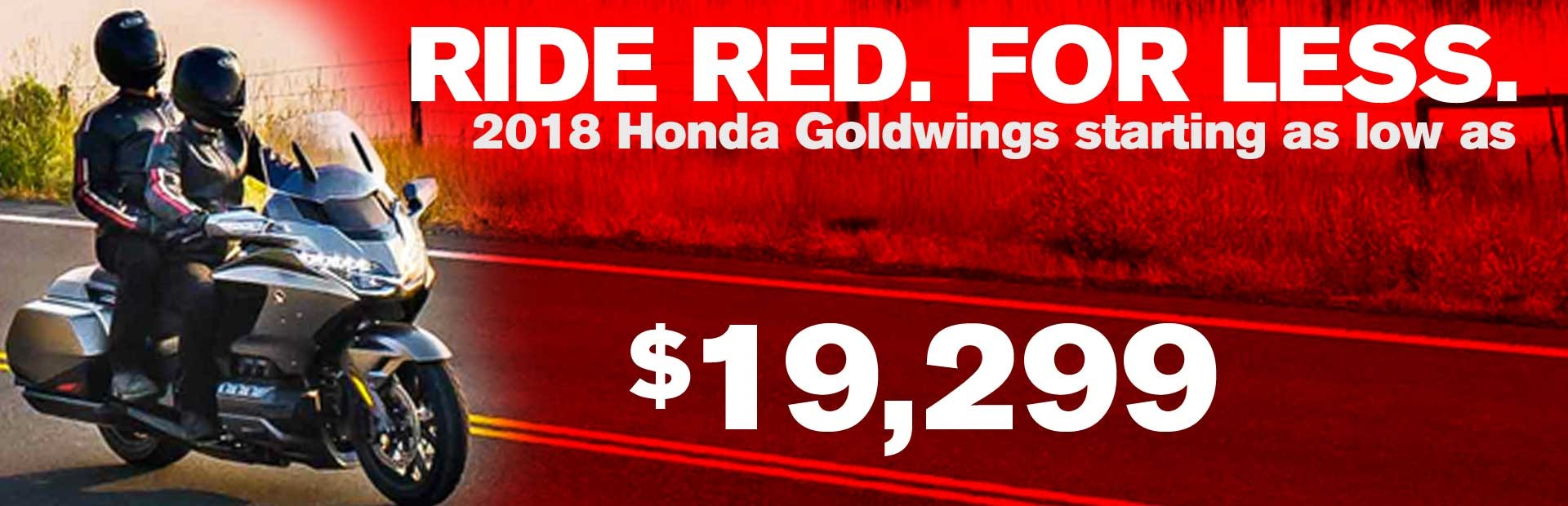 2018 Goldwing Nov 2018 offer