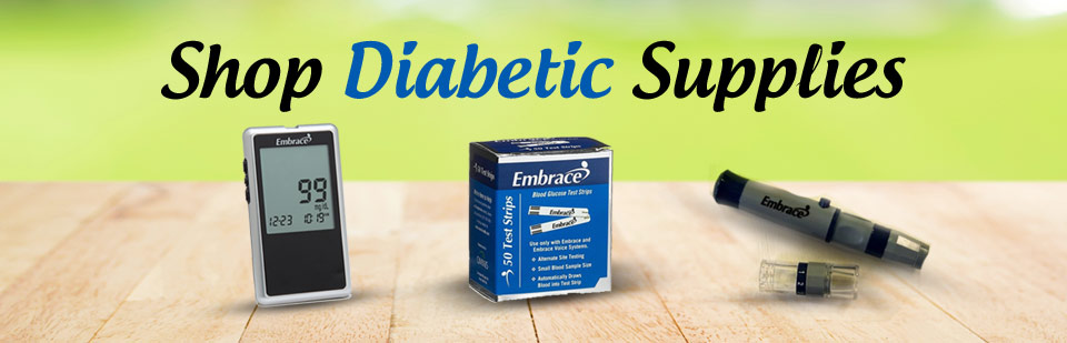 Click here to shop diabetic supplies!