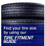 Find your tire site by using our Tire Fitment Guide