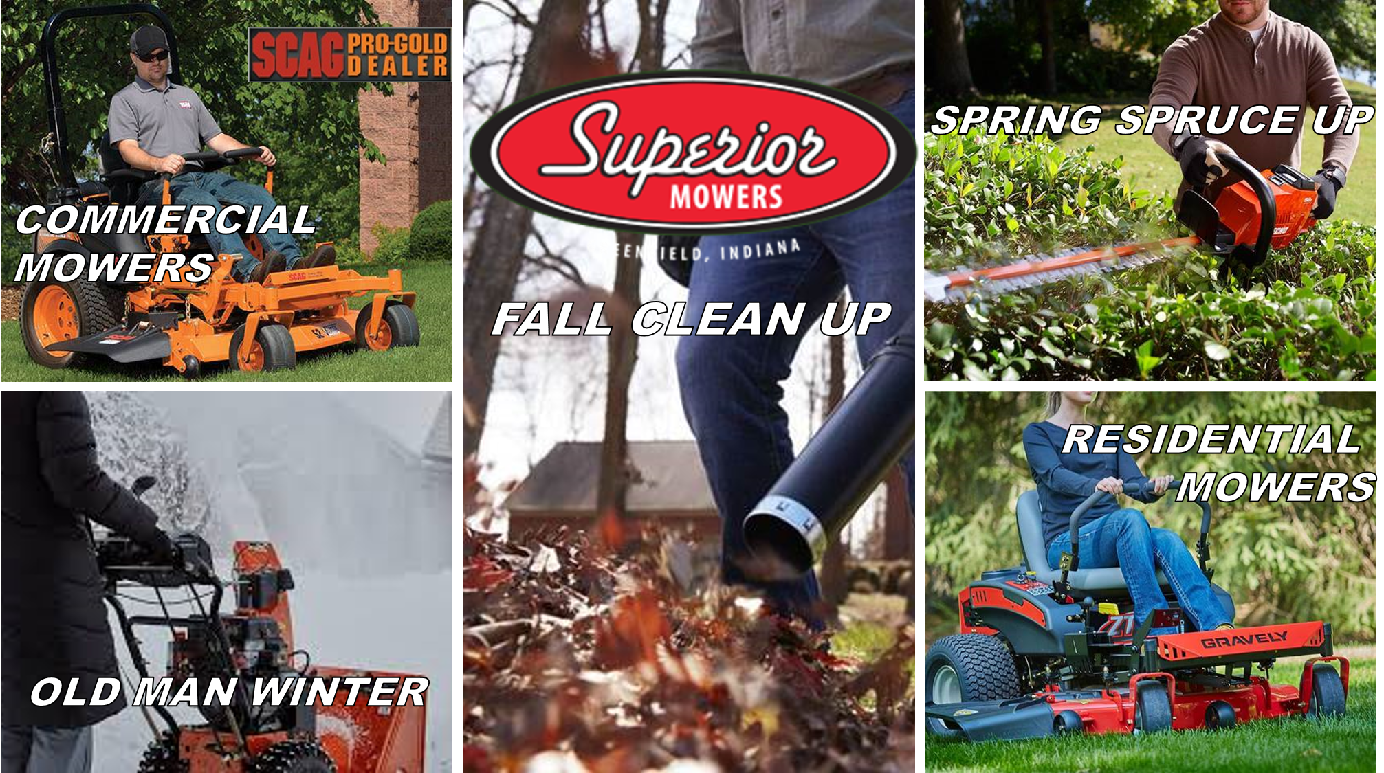 Home Superior Mowers & More Greenfield, IN (317) 462-1323