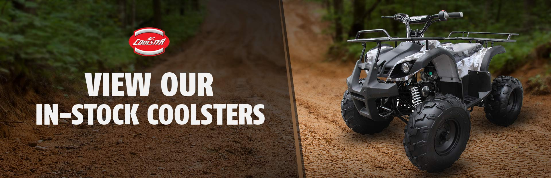 Click here to view our in-stock Coolster ATVs.