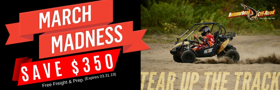 2018 Hammerhead Off-Road Go Karts: Click here to view the models.