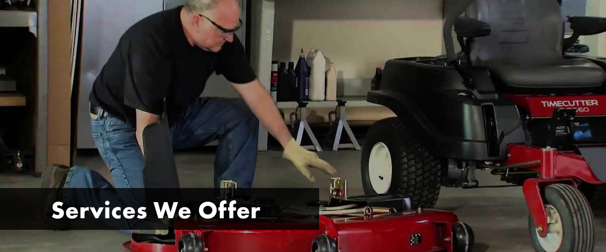Lawn Tractor Blade Sharpening A-Z Lawn Mower Parts LLC Lexington, SC