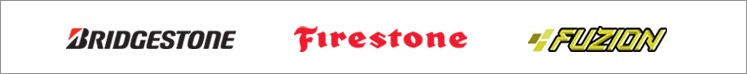We carry top tires from Bridgestone, Firestone, and Fuzion. We are affiliated with TireSafety.