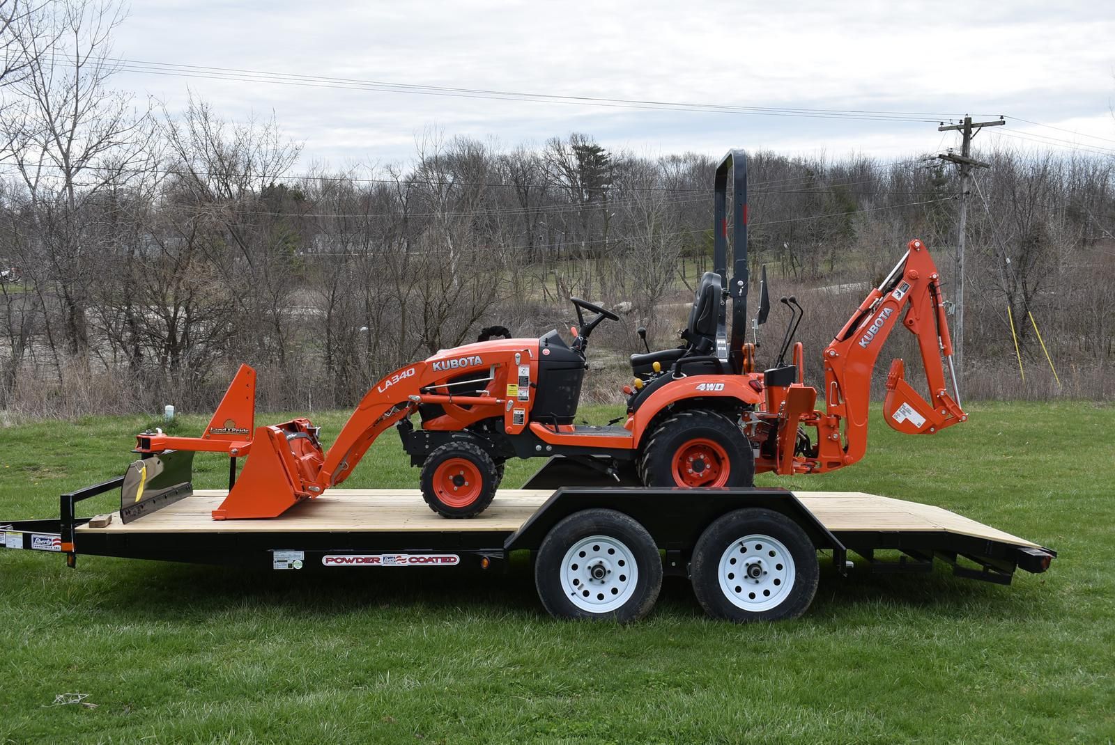Kubota BX Series Tractor Package German-Bliss Equipment, Inc