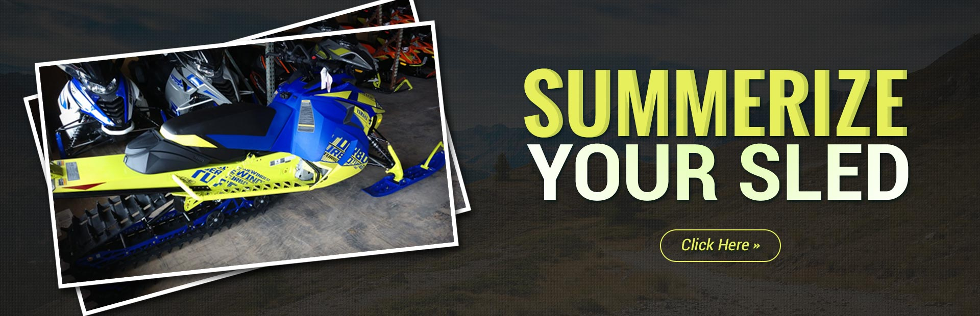 Summerize Your Sled: Contact us for details.