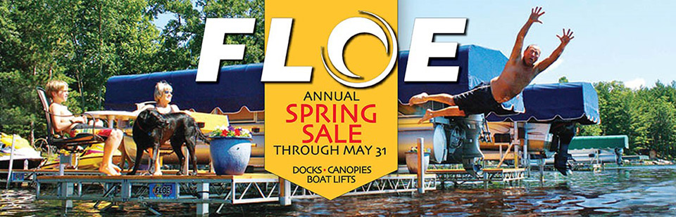 Floe Annual Spring Sale Through May 31st