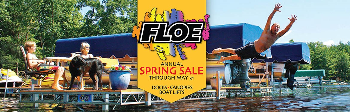 Floe Annual Spring Sale Through May 31