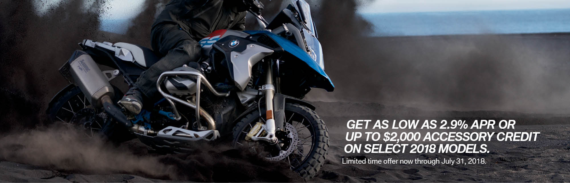 BMW June Promotion - as low as 2.9% APR, or up to $2500 off