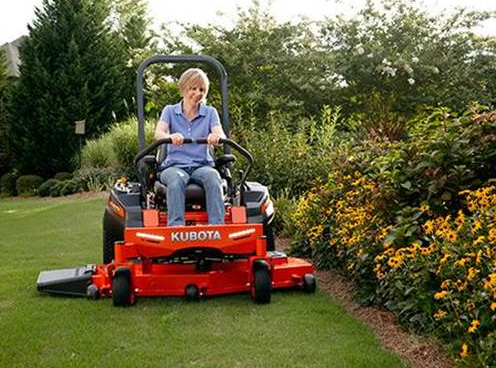 Kubota Z Series Commercial Mowers