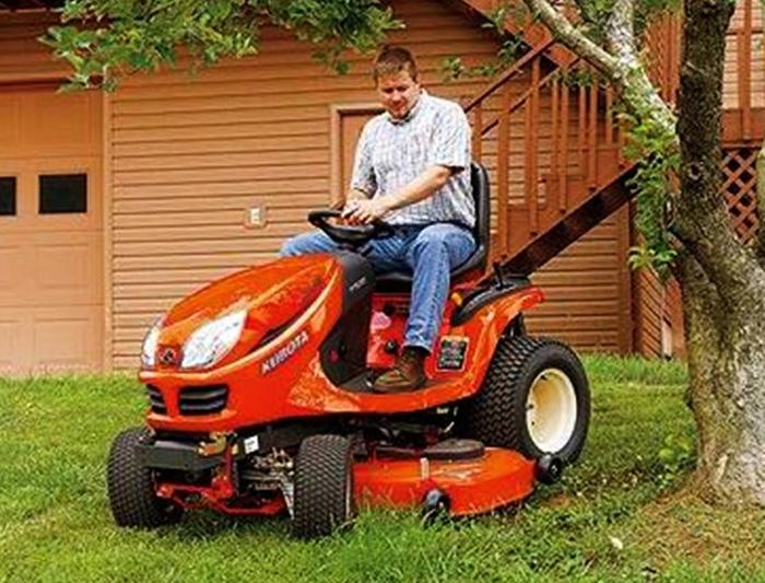 Kubota GR Series Lawn Mowers