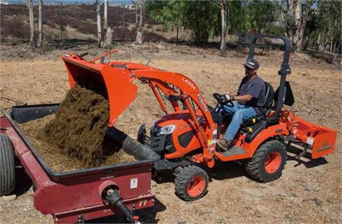 Kubota BX Series Tractors