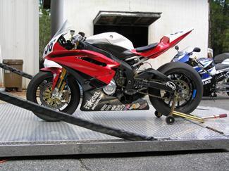 Yamaha YZF R6 KWS Motorsports N Charleston SC 843 552 7177