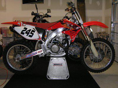 Honda CRF450R KWS Motorsports N. Charleston, SC (843) 552-7177