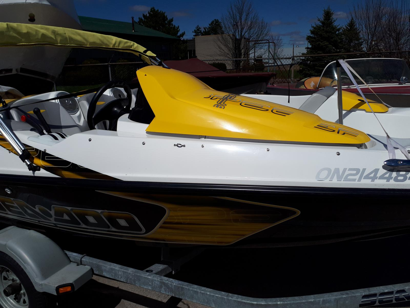 2009 Sea Doo Sportboat boat for sale, model of the boat is SPEEDSTER 150 & Image # 2 of 5