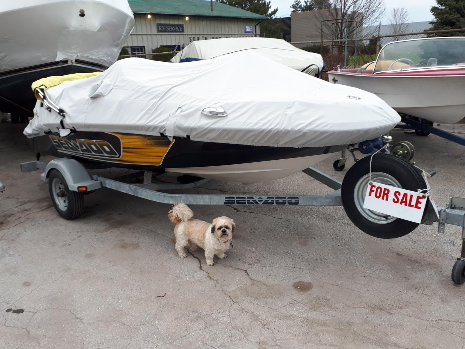 2009 Sea Doo Sportboat boat for sale, model of the boat is SPEEDSTER 150 & Image # 1 of 5