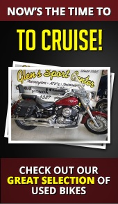 Now's the time to cruise! Check out our great selection of used bikes