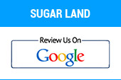 Sugar Land: Review us on Google.