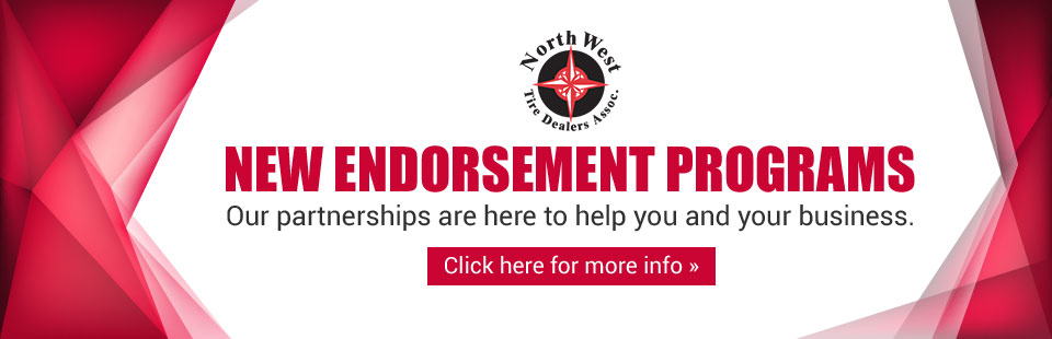 New Endorsement Programs: Our partnerships are here to help you and your business. Click here for more info.