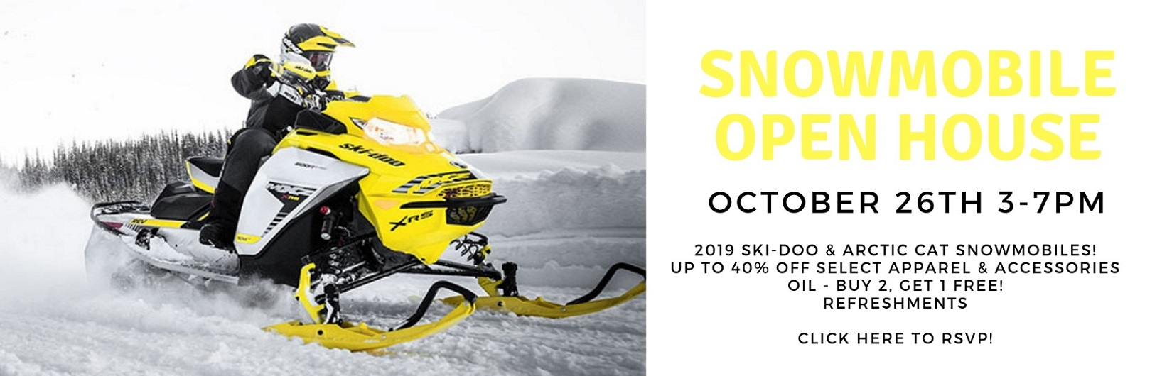 Snowmobile Open House