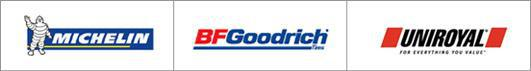 Michelin®, BFGoodrich® Uniroyal®