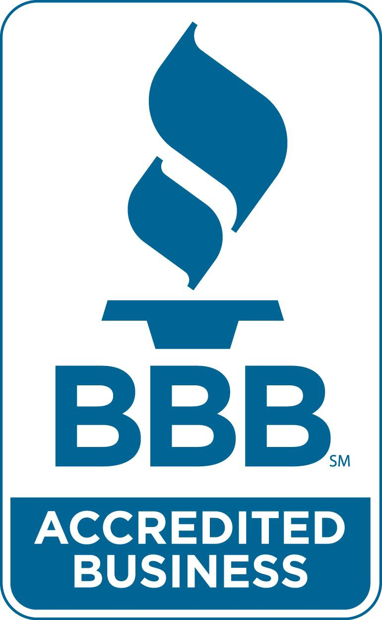 We are accredited by the BBB!