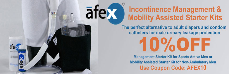 Incontinence System for Men