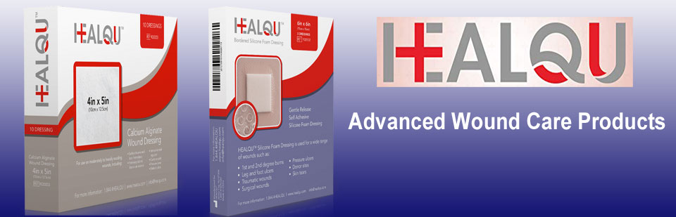 Healq advanced wound care products