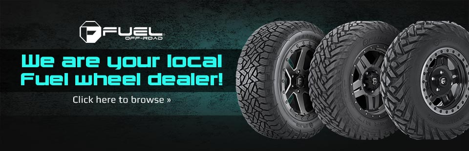 We are your local Fuel wheel dealer! Click here to browse.