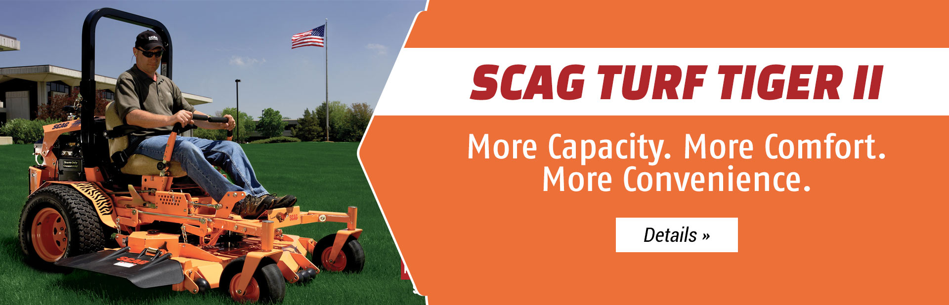Scag Turf Tiger II: Click here to view the models.