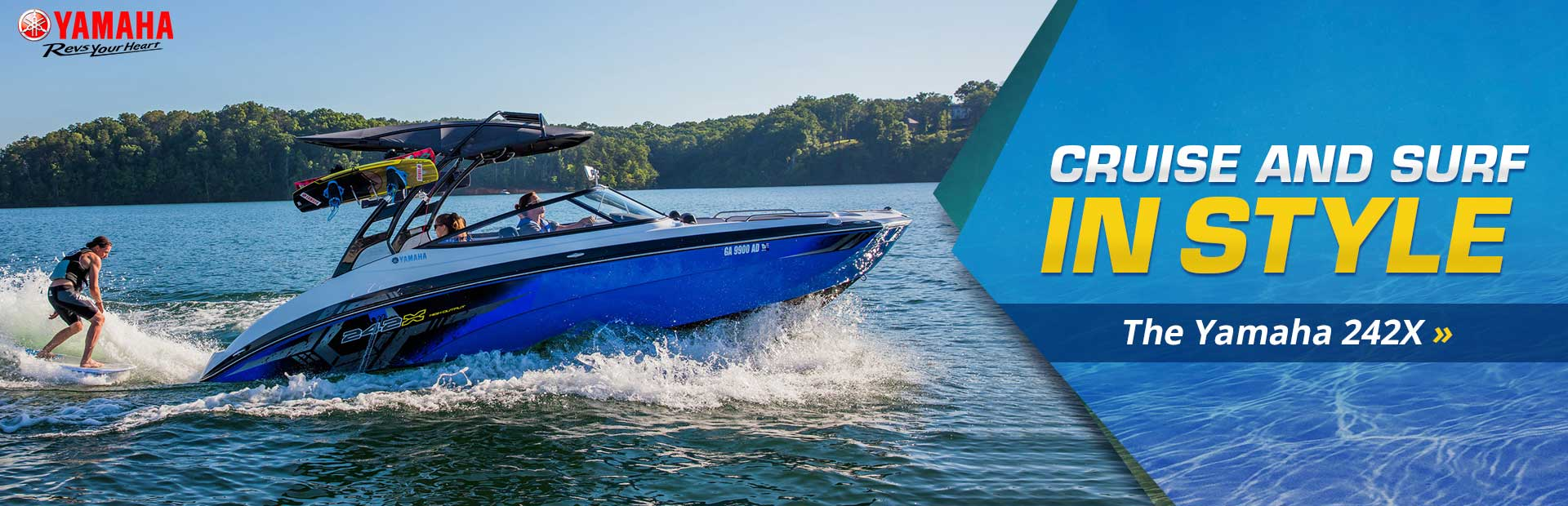 Click here to view the 2018 Yamaha 242X.