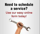 Need to schedule a service? Use our easy online form today!