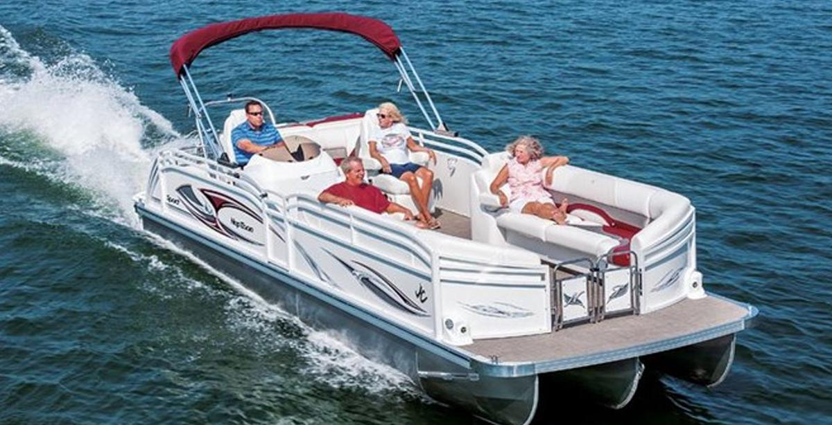 Jc boats jc pontoon boats jc boat repair service jc for Electric motor for pontoon boat