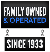 Family owned and operated since 1933.