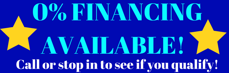 0% Financing For Qualified Buyers