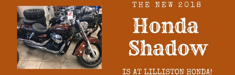 The 2018 Honda Shadow