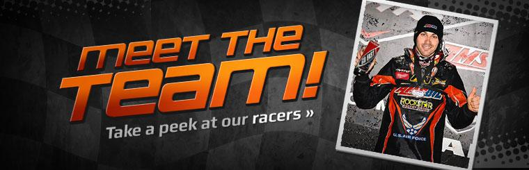 Click here to meet our racers.