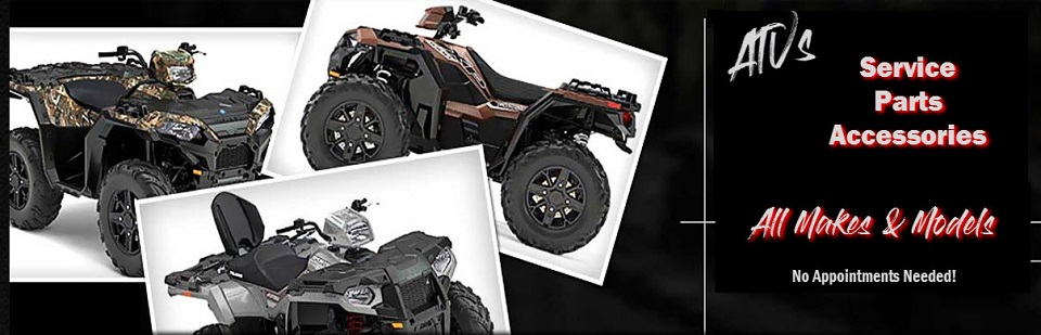 ATV Parts Service and Accessories - All Makes & Models