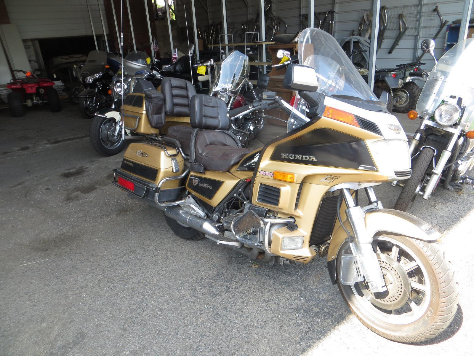 1985 Honda Gold Wing Limited Edition Gl1200lf For In Monroe Nc Iron Horse Motorcycles 800 406 5787