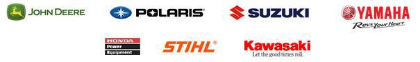 We proudly carry products from John Deere, Polaris, Suzuki, Yamaha, Honda Power Equipment, STIHL, and Kawasaki.