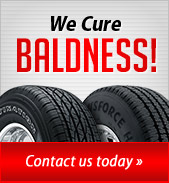 We Cure Baldness! Contact us today.